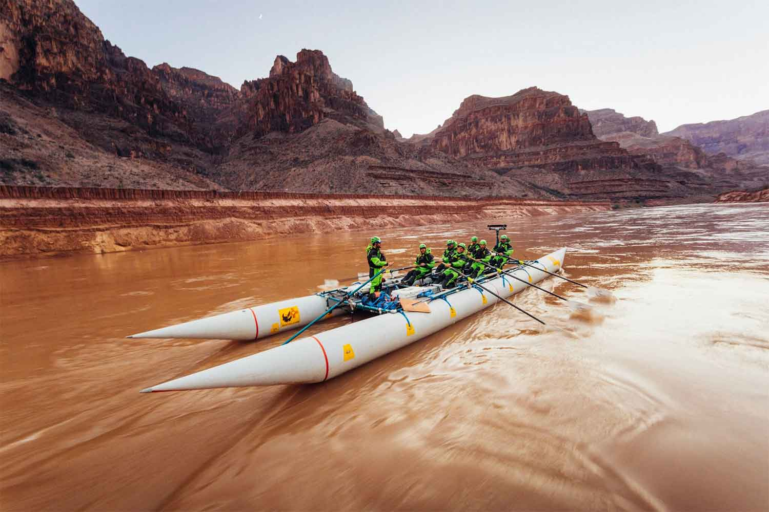 grand canyon speed record raft