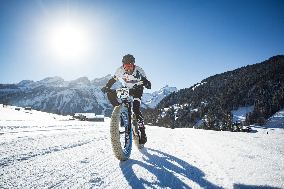 UCI class 2 stage race snow bike festival