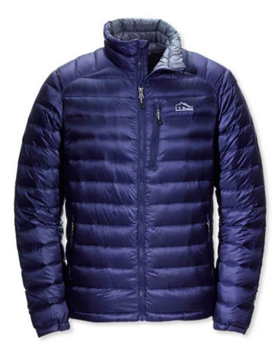 LL Bean lightweight puffy jacket