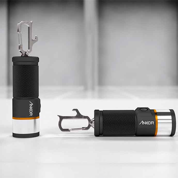 Ankor flashlight multi-tool