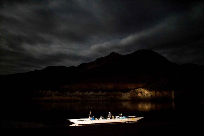 Speed Record Attempt Of Grand Canyon In Custom Boat