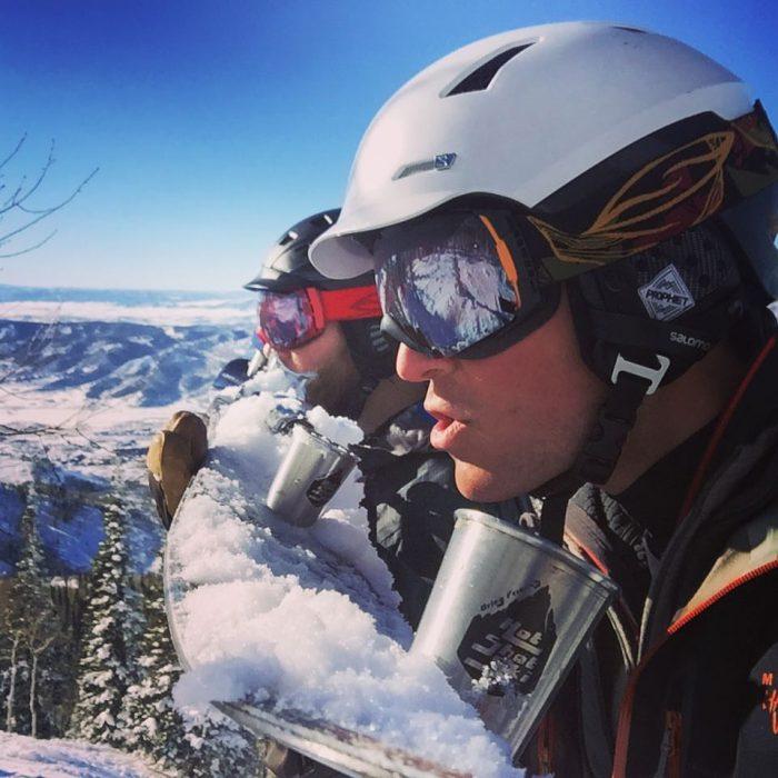 shot ski set