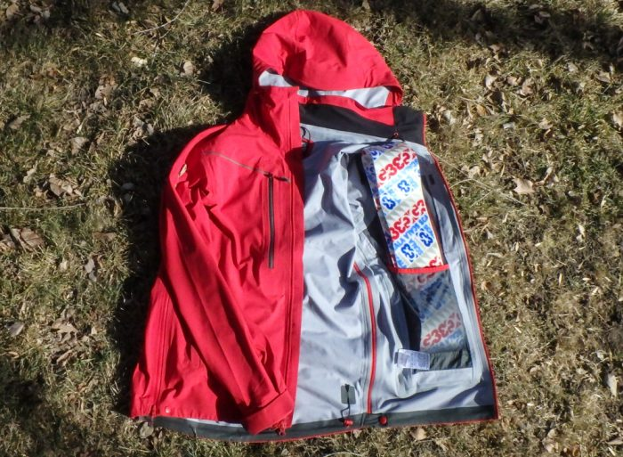 Outdoor Research jacket pockets