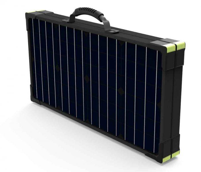 solar panel briefcase