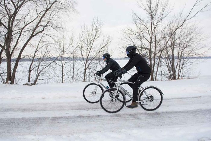 winter biking in minnesota priority bicycles continuum