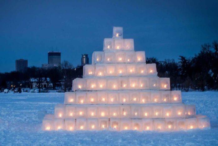 ice sculptures minnesota Great Northern
