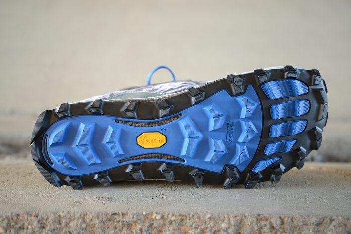 Massive tread underfoot