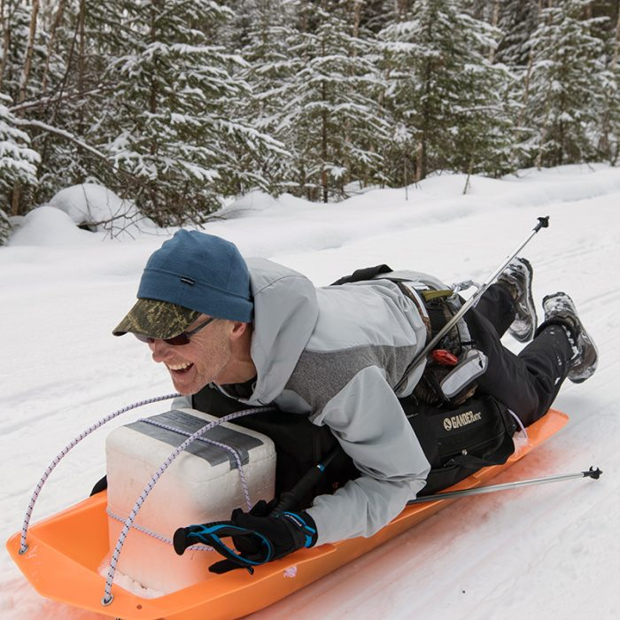 Arrowhead 2017 fun sledding