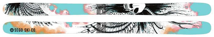 6 skis for the winter season 2017 2018: Sego Big Horn 96