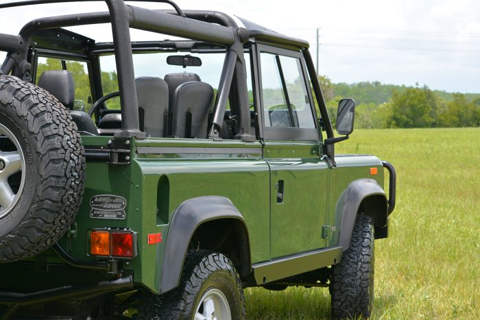 East Coast Defender Custom Land Rover Restoration