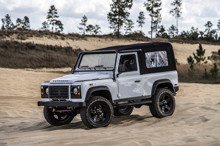 East Coast Defender Land Rover Restoration