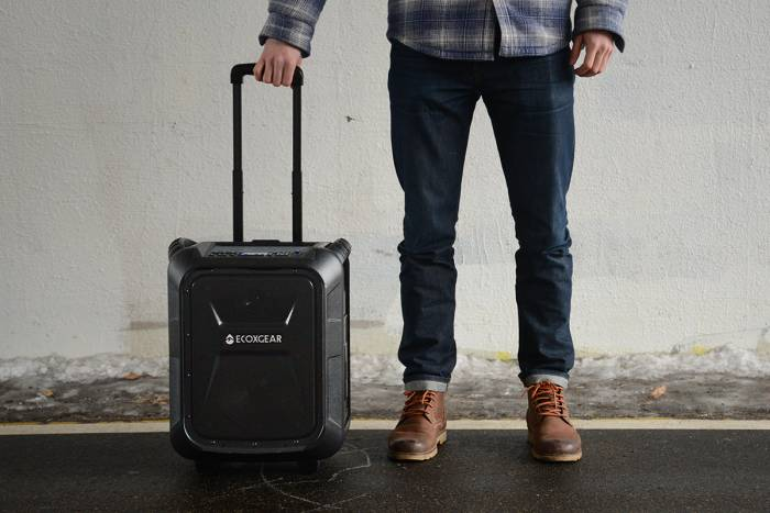 Ecoxgear portable bluetooth speaker 2