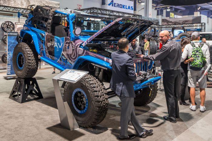 zero emissions jeep wrangler concept
