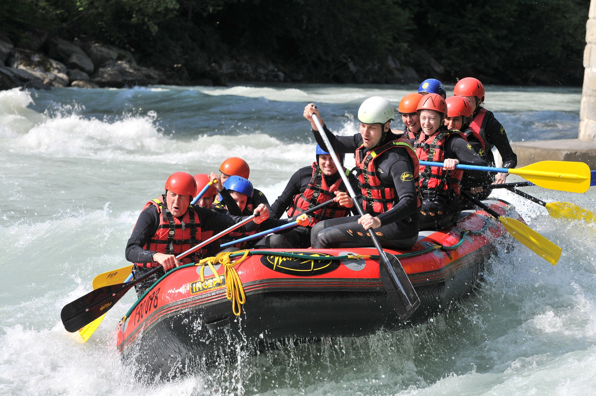 whitewater rafting guide outdoor industry