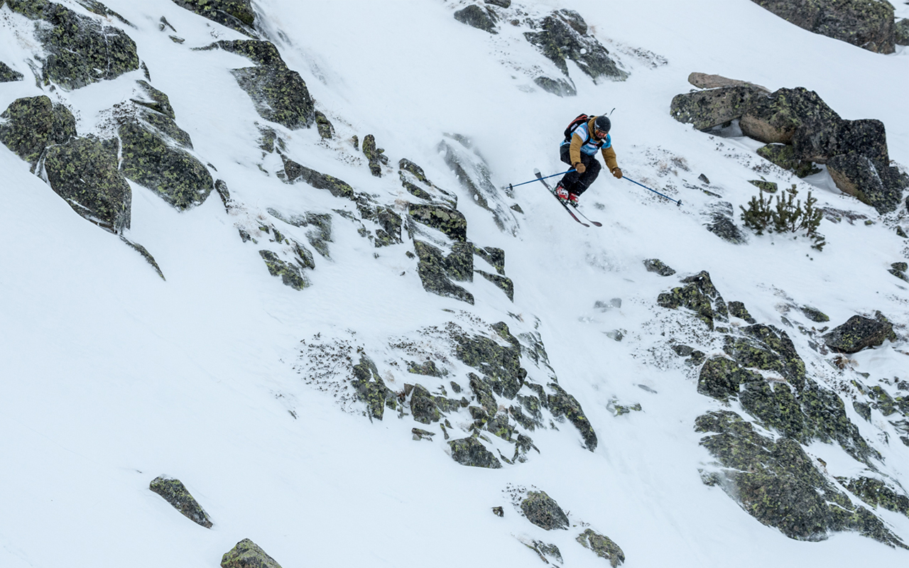 Jeremy Bernard Photography junior Freeride world tour