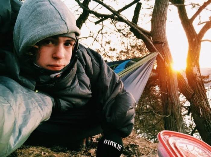 Minnesota teen spends 18 months in hammock 1
