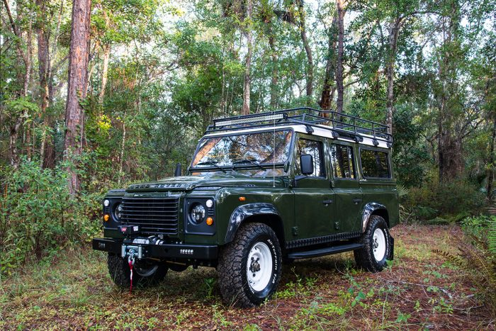 East Coast Defender Land Rover Restoration