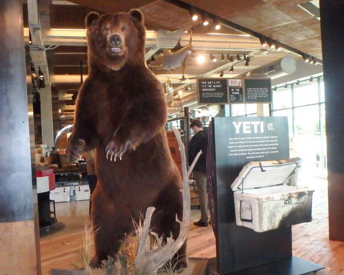 YETI Store tour