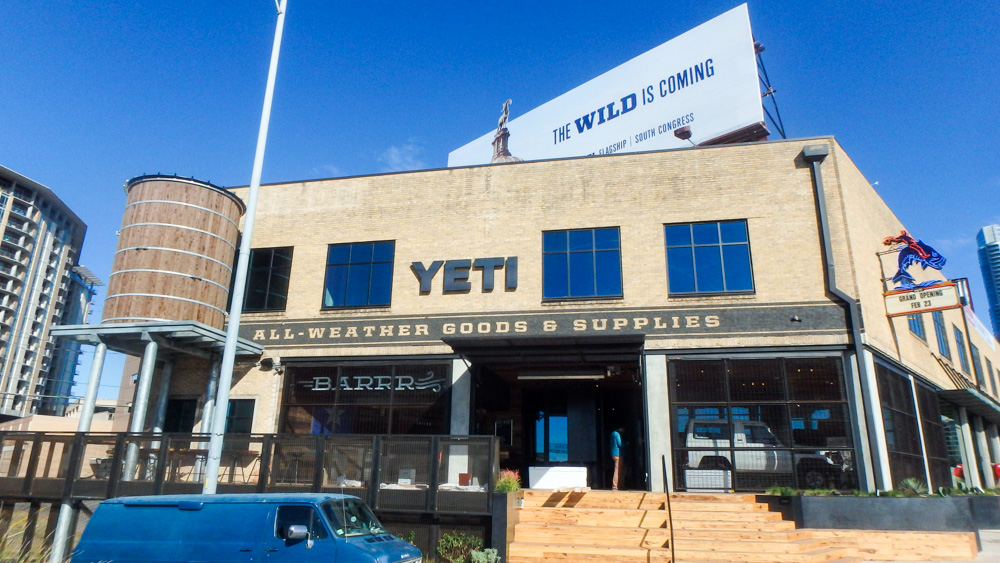 Retail trend first look inside yeti coolers flagship for Fish store austin