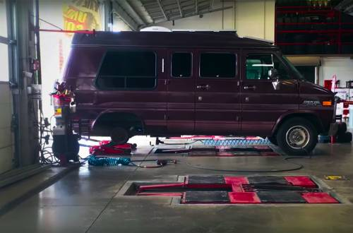 custome camper van construction