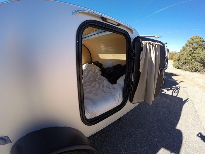 aluminum frame teardrop trailer