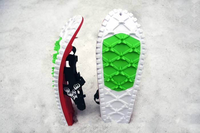 crescent moon eva snowshoes
