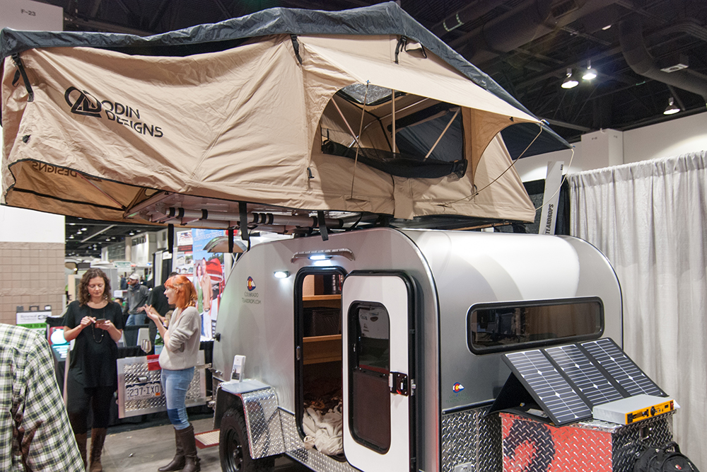Aluminum Teardrop Trailers : Tougher teardrop the pull behind camper built to last