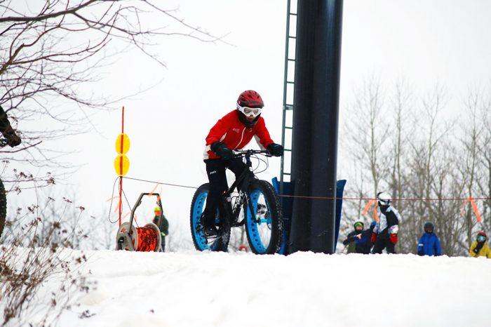 ski snowboard fatbike race
