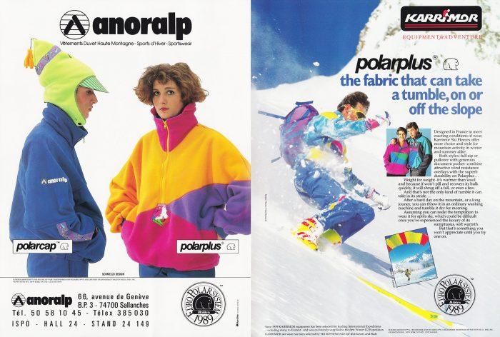 retro polartec polarfleece