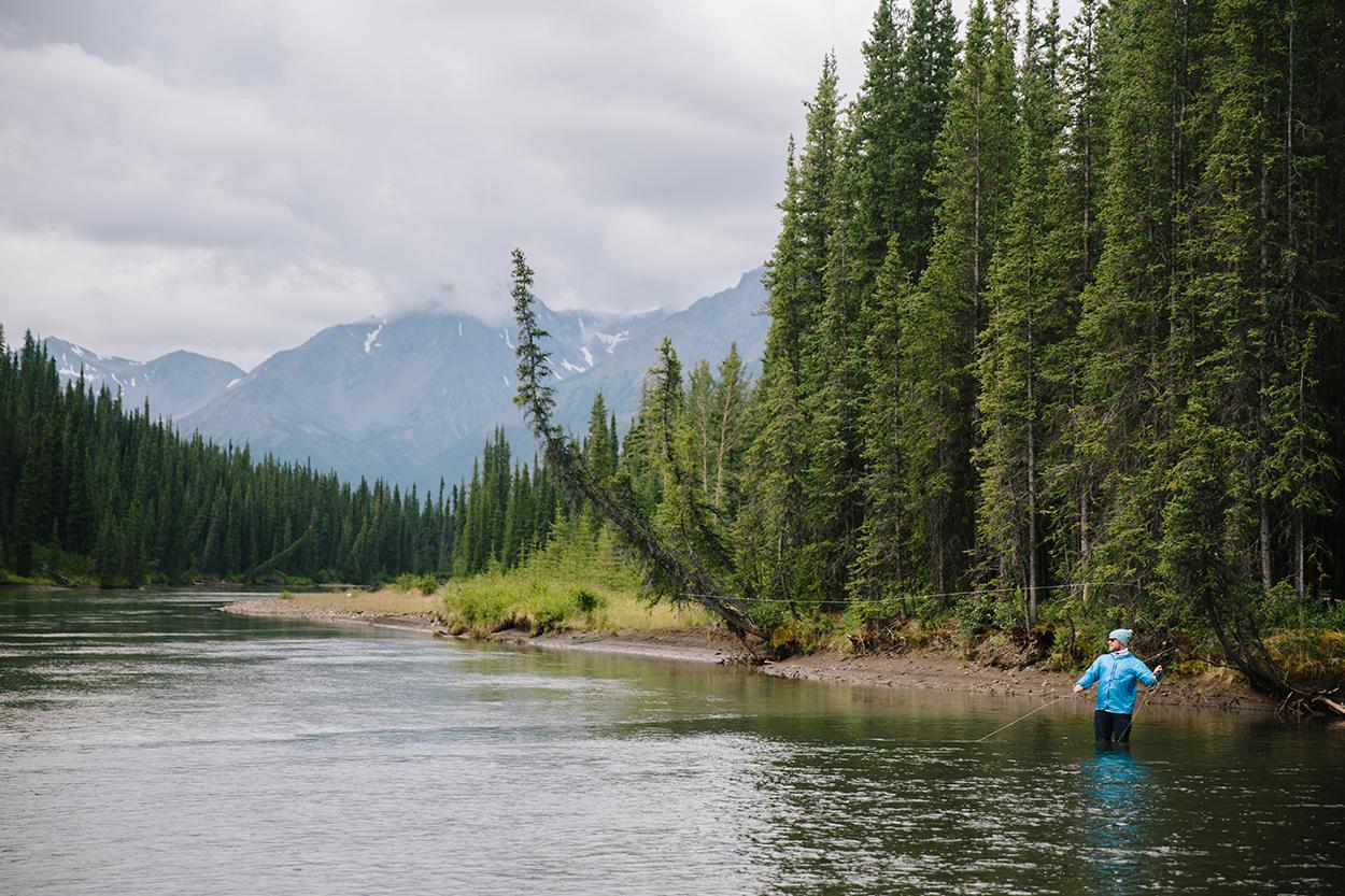 fly fishing Bikerafting Sacred Headwaters