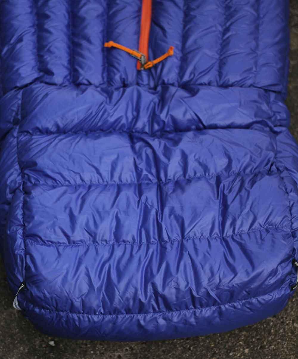 Foot Box Of The Patagonia Sleeping Bag