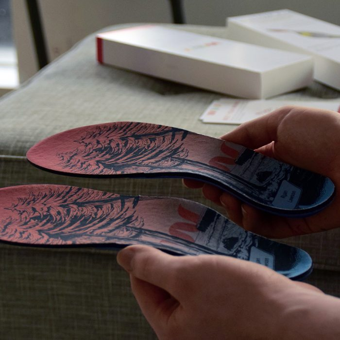Wiivv 3D printed insole