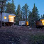 'Micro' Cabins at Outward Bound center