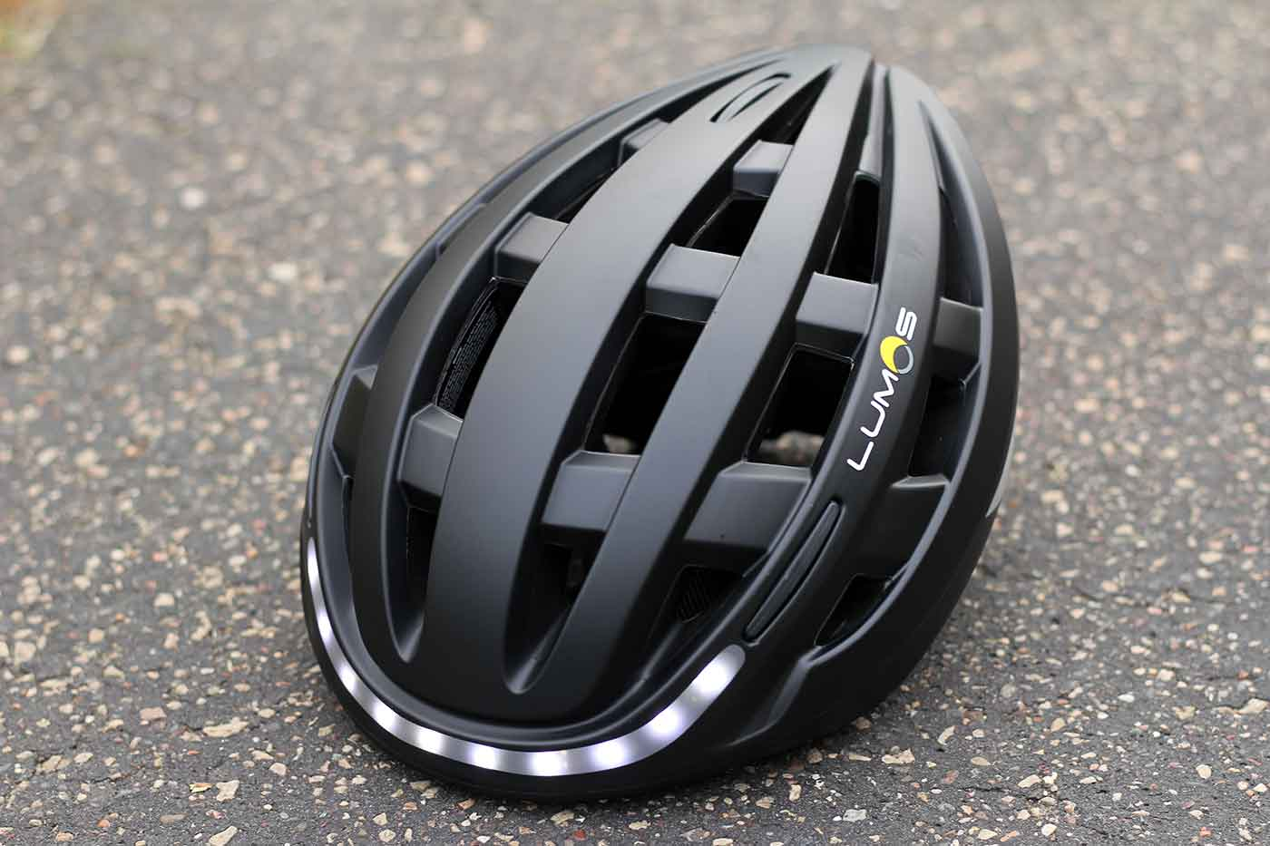 Ride With Confidence Lumos Light Up Helmet Review Gearjunkie