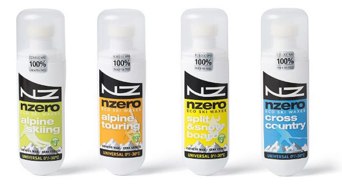 NZero: 100% Eco Sustainable Waxes For Snow Sports ISPO product of the year