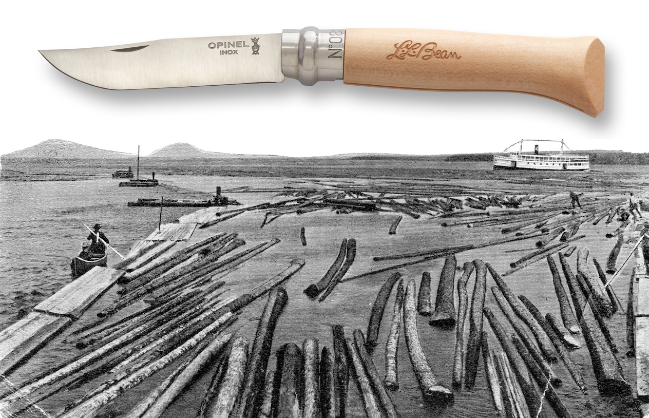 Opinel Knife Reclaims Century Old Submerged Wood Gearjunkie