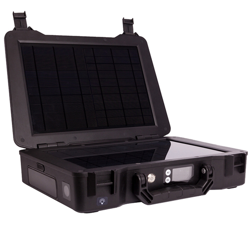 phoenix solar powered brief case