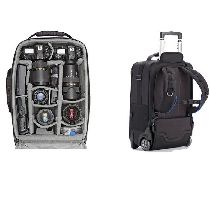 rolling camera backpack