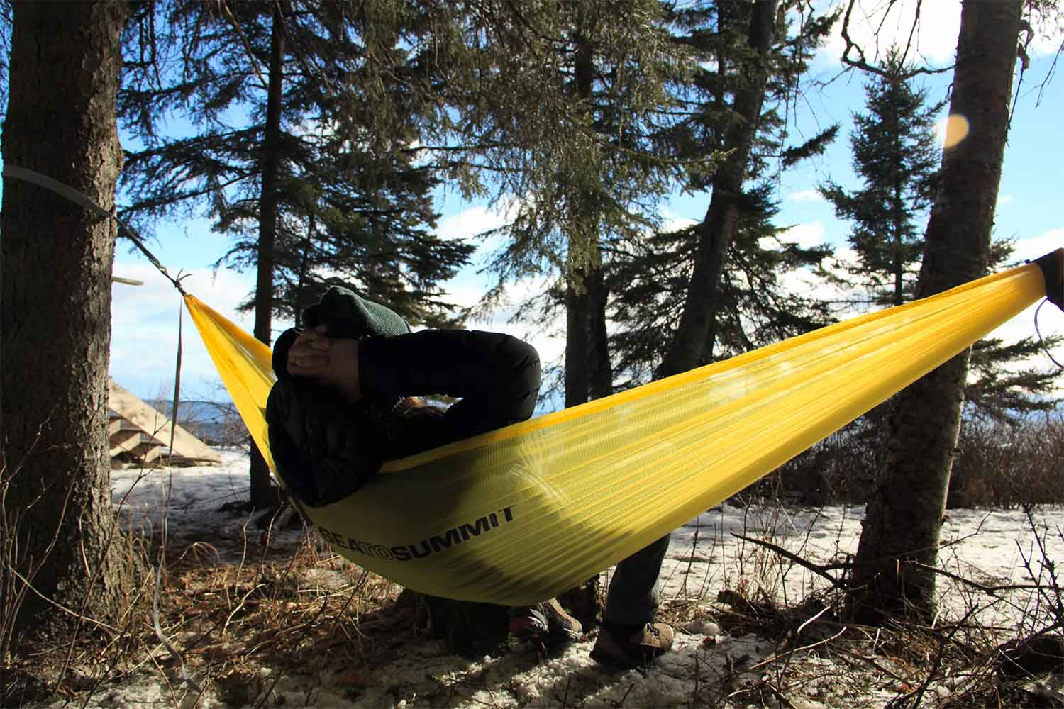 sea to summit backpacking hammock