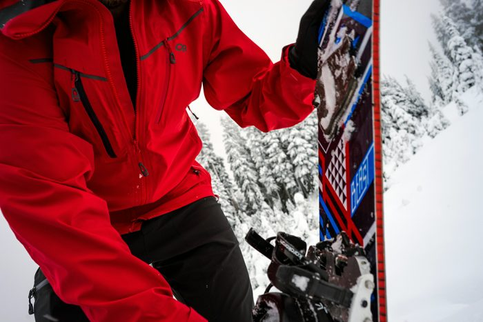 Outdoor Research: skyward ascentshell kit snowboard