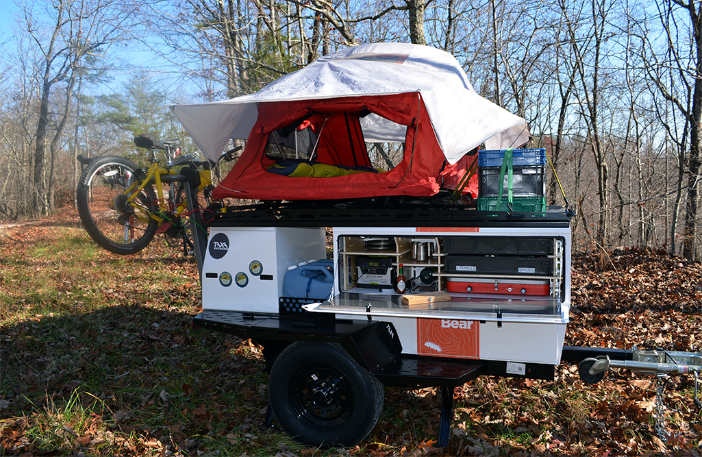 The Adventure Trailer Built For Small Cars