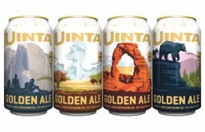 uinta national park rotating series golden lager