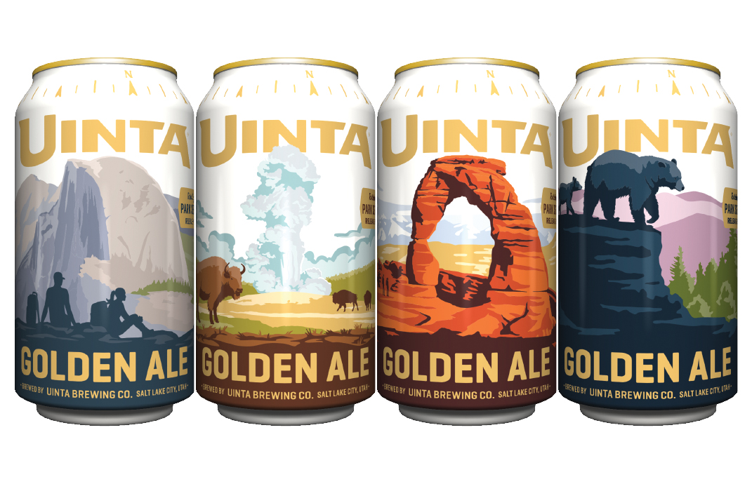 uinta national park rotating series golden lager