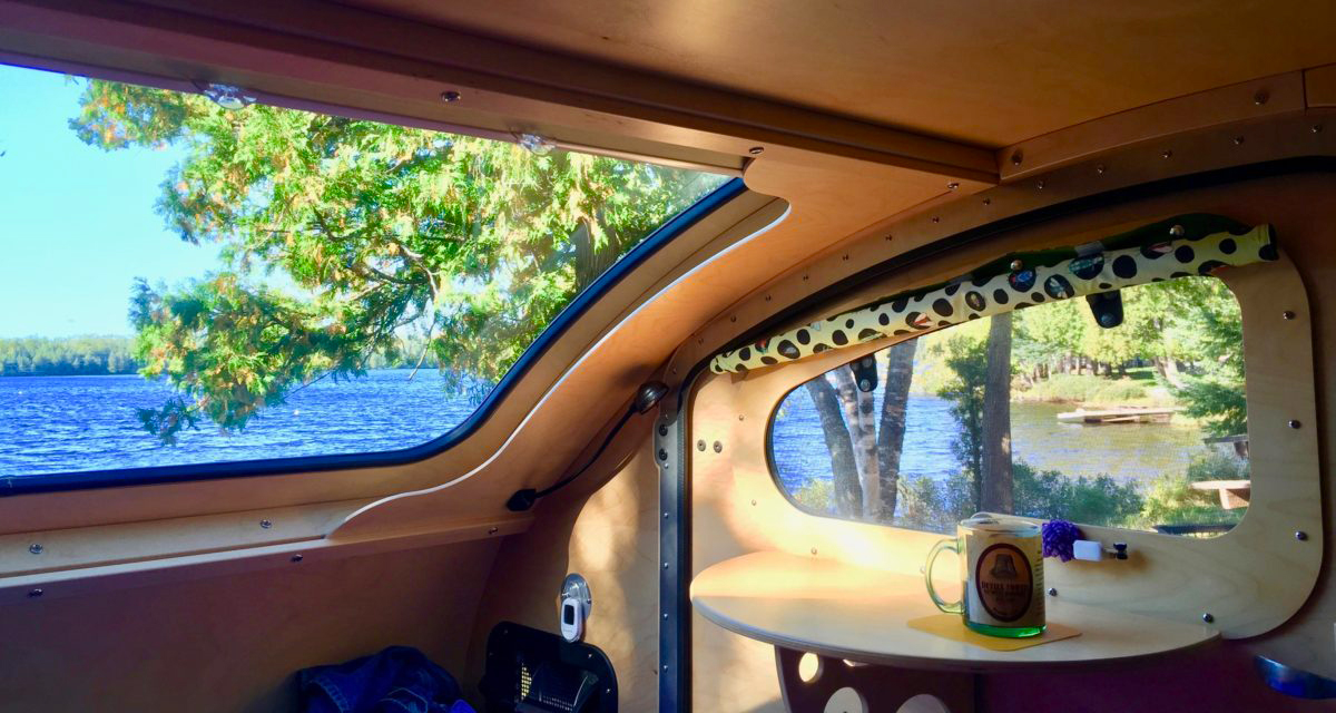Meet Vistabule The Small Camper With Huge Windows