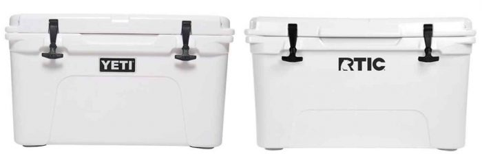 RTIC and YETI coolers
