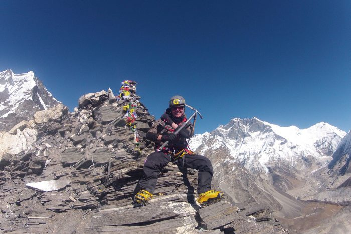 7 mantras for climbing big mountains holly budge