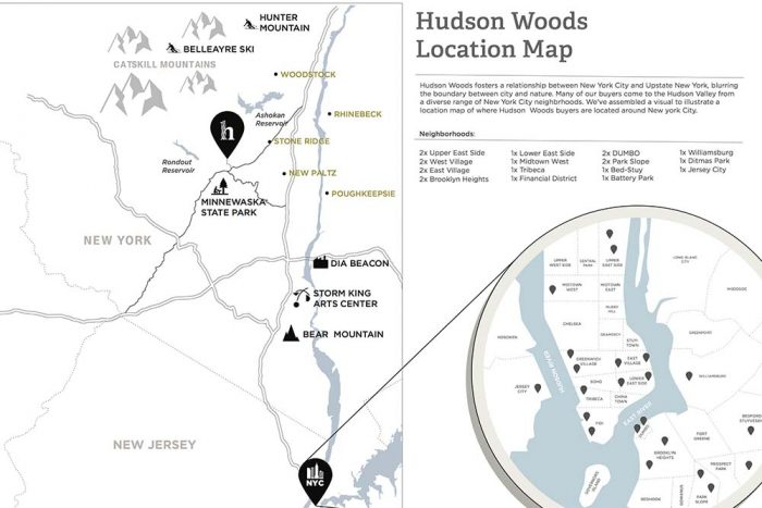 Hudson Woods Map