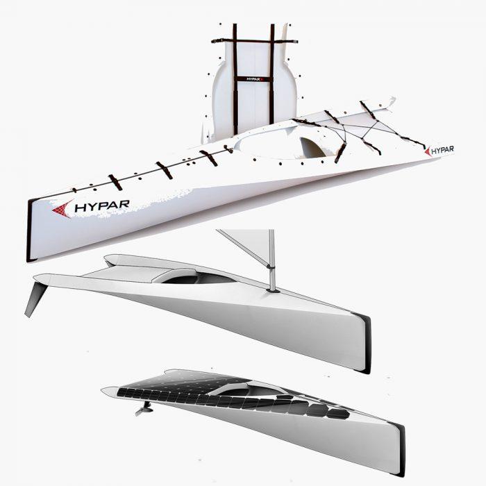 Hypar Kayak configurations