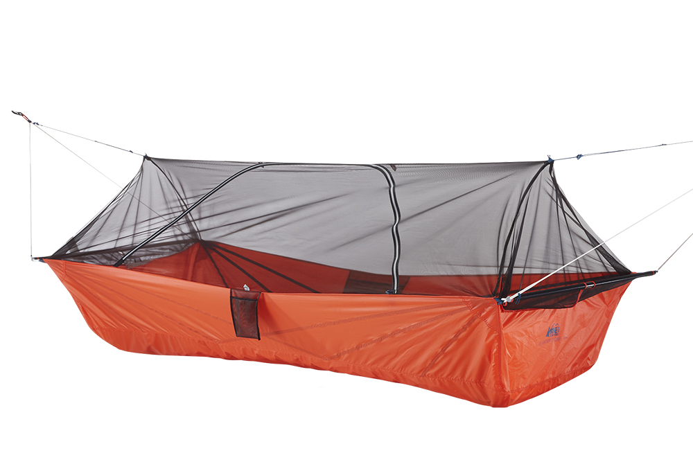 REI QD Air angle no fly  sc 1 st  GearJunkie & REI Launches Hanging u0027Quarter Domeu0027 Tent
