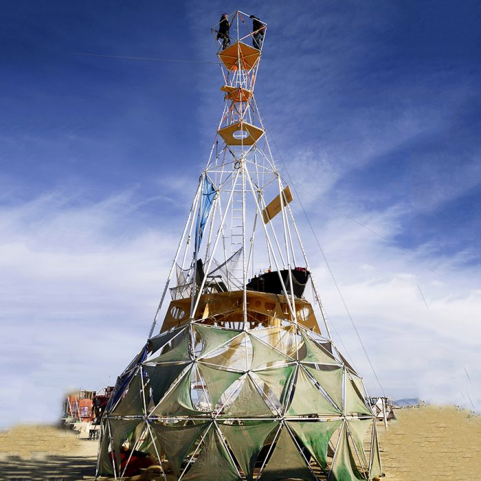 Burning Man Tents